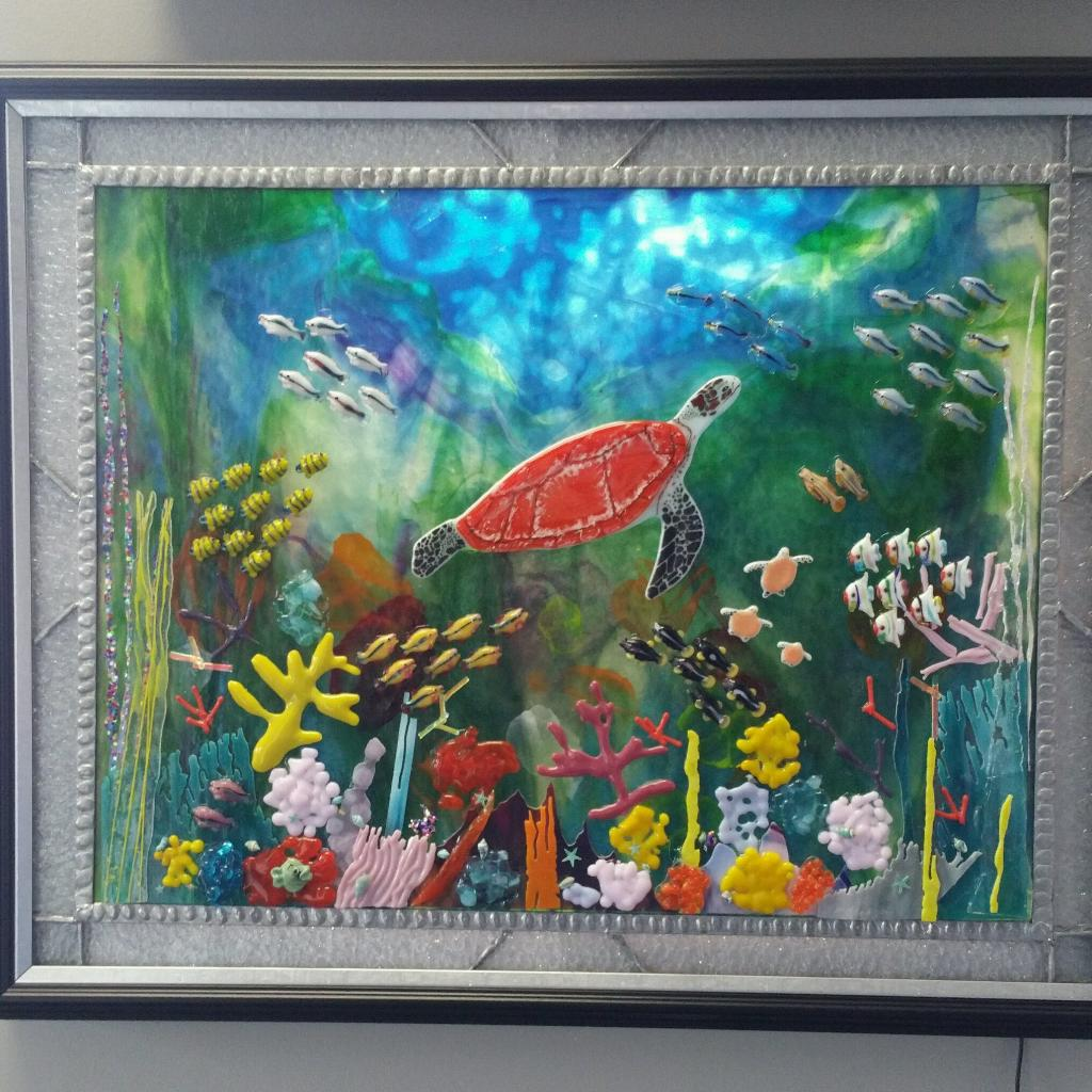 Turtle Under the Sea
